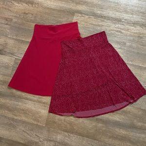 Lularoe Azure Skirt Bundle